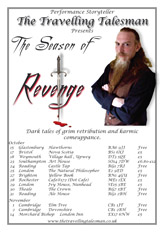 theseason of revenge tour poster